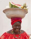 palenquera cartagena стоковая фотография rf