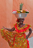 Palenquera Fruit Seller Stock Photos