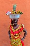 Palenquera owoc sprzedawca Obraz Stock