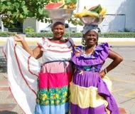 Palenquera woman Stock Photos