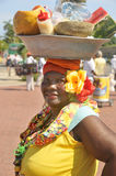 Palenquera woman Stock Photo
