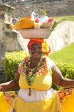 Palenquera woman Stock Image