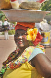 Palenquera woman Royalty Free Stock Images