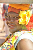 Palenquera woman Stock Images