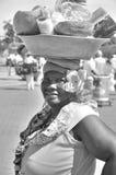 Palenquera woman Royalty Free Stock Image