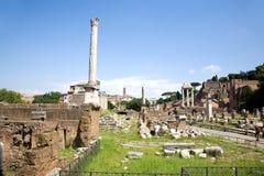Palentine Ruins Stock Image