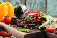 paleo диетпитания Здоровая питательная еда протеина Домодельный сделанный колодец стоковая фотография rf