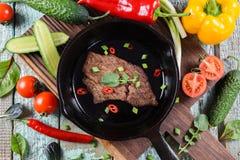 paleo диетпитания Здоровая питательная еда протеина Домодельный сделанный колодец стоковое изображение rf