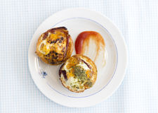 Paleo Breakfast - Bacon and Eggs Muffins Royalty Free Stock Image