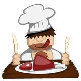 Paleo chef Royalty Free Stock Photography