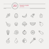 Paleo Food Royalty Free Stock Photo
