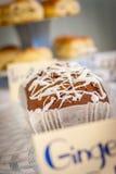 Paleo Ginger Cake Fotografia de Stock Royalty Free