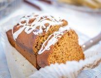 Paleo Ginger Cake Stockbilder
