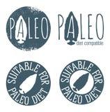 Paleo Icon Set Stock Photos