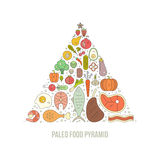 Paleo Pyramid Stock Images