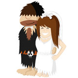 Paleo Wedding Royalty Free Stock Photo