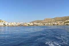 Paleochora in the south of Crete Royalty Free Stock Image