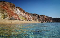 Paleochori beach Royalty Free Stock Photos