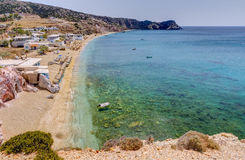 Paleochori, Milos island, Cyclades, Greece Royalty Free Stock Photography
