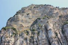 Paleokastrica Küste Stockfoto