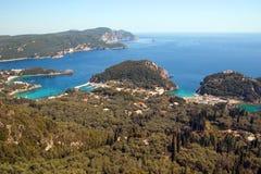 Paleokastrica, Korfu, Griechenland Lizenzfreies Stockfoto