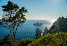 Free Paleokastritsa Bay, Corfu Island, Greece Stock Photography - 44738732