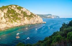 Free Paleokastritsa Bay, Corfu Island, Greece Royalty Free Stock Images - 44738979