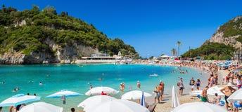 Paleokastritsa beach Royalty Free Stock Images