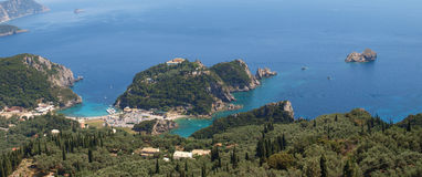 Paleokastritsa, Corfu Stock Photography