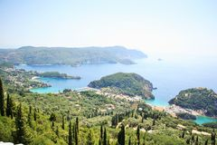 Paleokastritsa (Corfu, Greece) Stock Photos