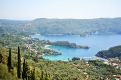 Paleokastritsa (Corfu, Greece) Royalty Free Stock Images