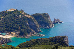 Paleokastritsa at Corfu, Greece Stock Photography