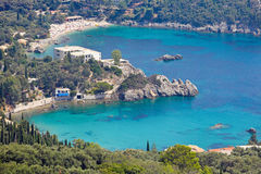 Paleokastritsa Corfu, Greece Stock Photography