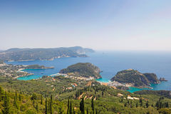 Paleokastritsa at Corfu, Greece Stock Image