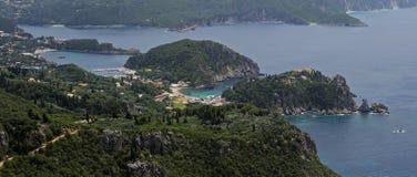 Paleokastritsa , Corfu , Greece Stock Photo
