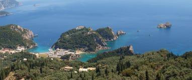 Paleokastritsa, Korfu Stockfotografie