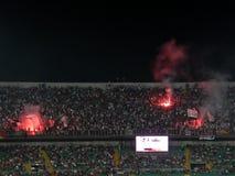 PALERME, ITALIE - 11 août 2013 - Di Palerme des USA Citta contre les USA Cremonese - TASSE de TIM Image libre de droits