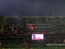 PALERME, ITALIE - 22 février 2014 - Di Palerme des USA Citta contre Spezia Calcio - Serie B Eurobet Images stock