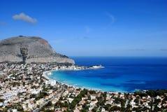 Palermo - überraschendes Mondello Stockbilder