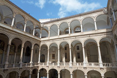 Palermo - Atrium of Norman palace Royalty Free Stock Photos
