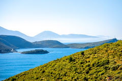 Palermo bay in Albania Royalty Free Stock Photo