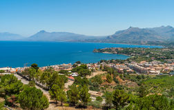 Palermo Bay. In the Mediterranean Sea Stock Images