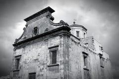 Palermo black white Royalty Free Stock Photo