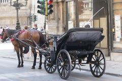Palermo carriage royalty free stock photos