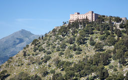 Palermo - Castelo Utveggio Fotos de archivo