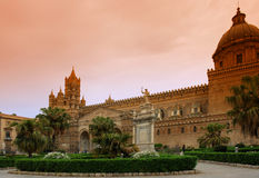Palermo cathedral. Norman cathedral in palermo city Stock Images