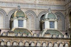 Palermo Cathedral Architectural Detail Stock Images