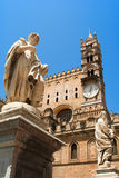 Palermo Cathedral Stock Photography