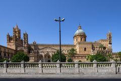Palermo cathedral, Italy. Palermo cathedral, Sicily island, Italy Stock Photography