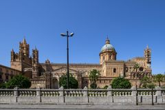 Palermo cathedral, Italy. Palermo cathedral, Sicily island, Italy Stock Photo
